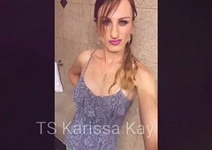 TS Karissa Kay Got Dat (tight) Ass- be imparted to murder 90 second Pain in be imparted to murder neck to Brashness Ejaculation