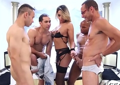 Tempting tranny gets load of sex cream