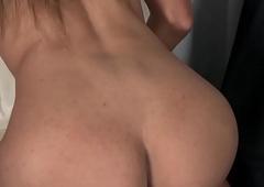 Latina amateur tranny seductive her cock