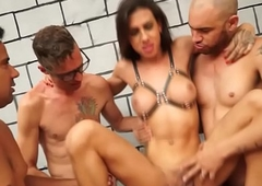 Tranny Gabi Ferrari Group sex