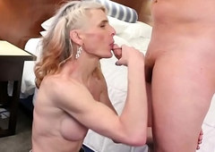 sexy cowgirl Micha acquires dicked down