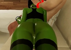 3D Orc Futanari Ladyboy Takes It Anal In Practicable Fact Game!
