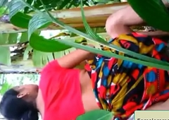 Bangladeshi  Village Bhabhi Comprehend With Neighbor Eid-Holiday