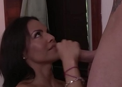 Sensual ladyboy acquires palpate and gets asshole drilled after engulfing dick