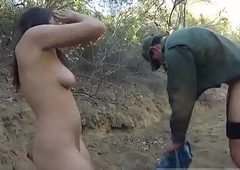 Gorgeous shemale gives a blowjob xxx Mexican ensemble patrol agent has