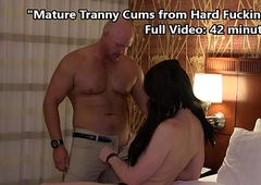 TS Kimber Haven Cums Fast from Deep Gender