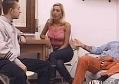 Roberta Cavalcante - Hot Italian T-Slut in threesome