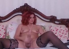 Milf Shemale With a Big Broad in the beam Cock Online