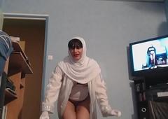 musulmane voil&eacute_e a gros seins