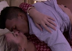 Hot shemale Aubrey acquires drilled till she cums