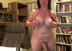 Well-endowed Shemale Unprofessional Wide a Big Cock