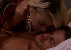Aubrey Kate waking regarding will not hear of lover