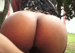 Brazilian Shemale Lohara Lomark Fucks Guy Bareback