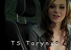 TS Tarynxo coupled with her best bud Kassondra be crazy sensuously