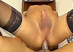 Shemale Loves Getting Ass Fucked