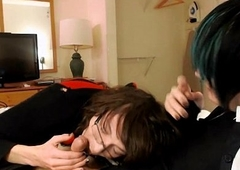 Tranny added to Femboy hotel blowjob ~