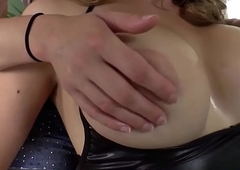 Busty wireless cockridden by babe