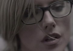 Kathleen Robertson making out film over in boss mistiness