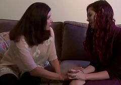 Sweet tranny Magdalene gets dirty with her student Chelsea