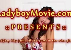Teen Ladyboy Natt Stroking