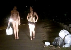 Nikki Sheboys Street shemale whores