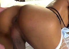 Inviting Thai TS Cartoon ramps sexy femme body and gets drilled