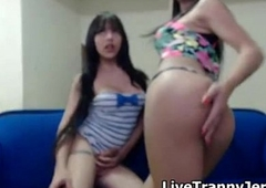 Hawt Transgender Teens on Web camera