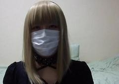 【女装】 ゴスロリ女装子 オナニー