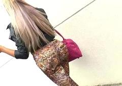Brazilian Sputter butt Tgirl Sheylla Wandergirlt acquires fucked up anal invasion
