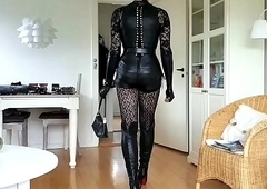 Sissy Accessible in X-rated Leather 01