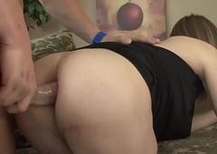 Trans shelady rides cock