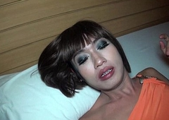 Ladyboy Kon Bareback Piss and Jism