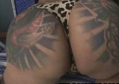 Comfit tattooed tranny infant inviting it all missing