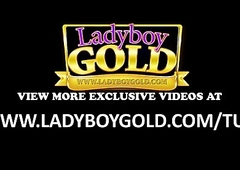 Ladyboy Teen Nook Anal Bead Corridor