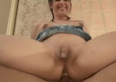 Shemales ass pounded by dick doggystyle