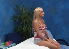 Peaches Amateur Enticed In Massage Room