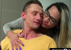 Leticia Menezes fuck lucky guy! Surprising Bareback!