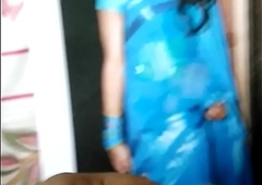 Indian crossdresser got jizz coerce